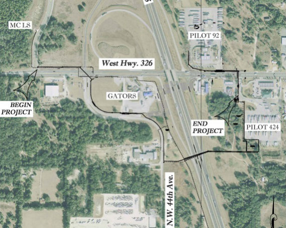 Marion County – Pilot Travel Center  CR 326  Utility Extension