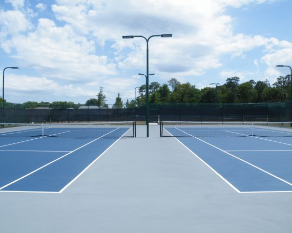 On Top of the World- Arbor Club Tennis Courts Expansion